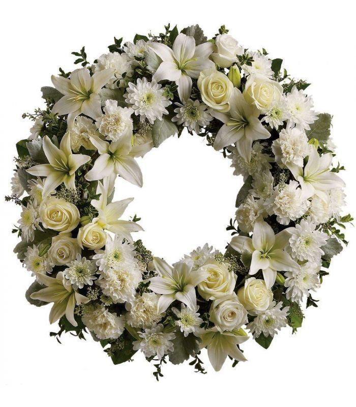 Centros y coronas para funerales